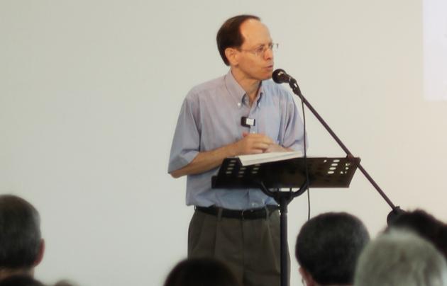 Pablo Martinez, speaking at a conference. / GBG,Pablo Martínez Evangelical Focus