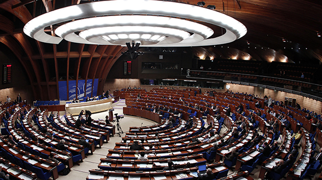 General view of the CoE Parliamentary Assembly. / CoE,COE PACE Parliamentary assembly
