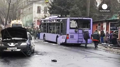 Image of the attack offered by Euronews (video caption). / Euronews