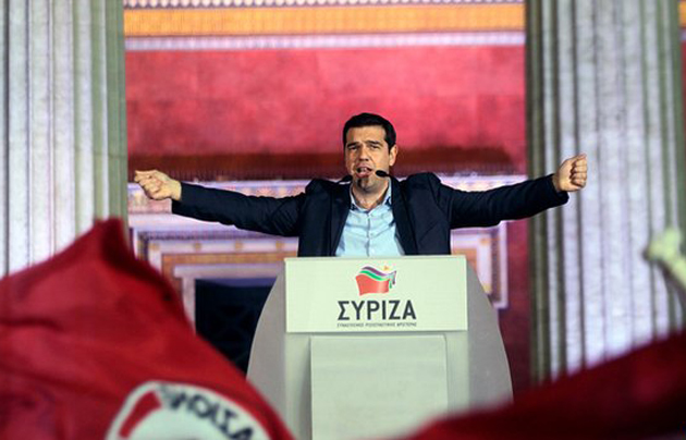 Alex Tsipras will lead a new anti-austerity government. / EPA,Alex Tsipras