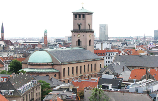 The Cathedral of Copenhagen. / Wikimedia.,Lutheran Chathedral Copenhage