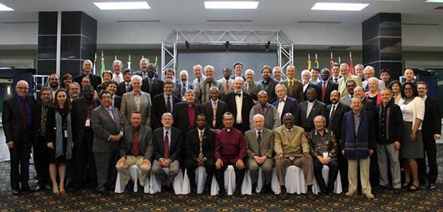 The group attending the WEA meeting in Honduras. / Facebook WEA,Honduras WEA Evangelicals