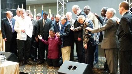 Commendation of Efraim Tendero as new secretary general. / WEA