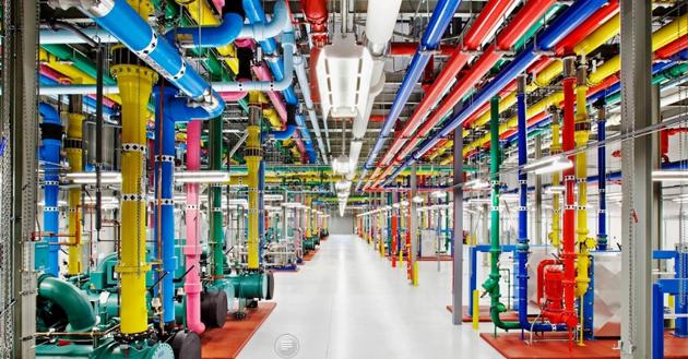 A data centre in Georgia, USA. / Google.,data, google