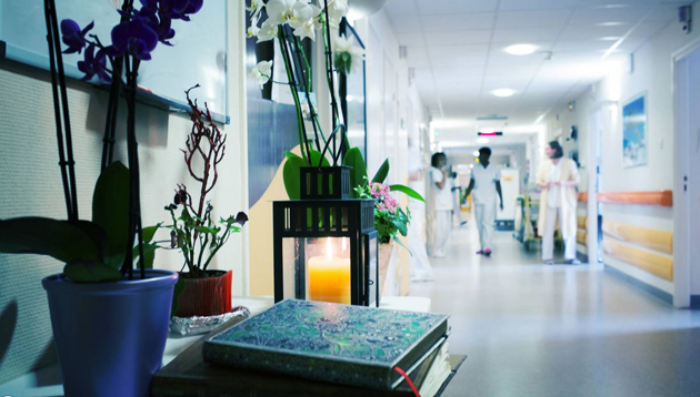 Hospital in France. / Le Figaro,Hospital, peace
