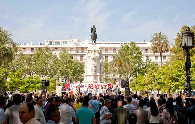Christians celebrate Jesus in Sevilla. ,