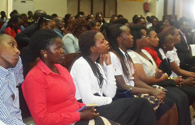 Christian students attending the memorial service. / Focus Kenya,students, Focus Kenya