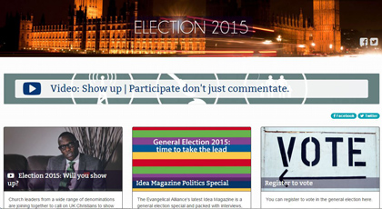 EAUK's Election 2015 website.