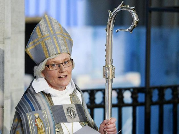 Head of the Church of Sweden and Archbishop of Uppsala, Antje Jackelén,