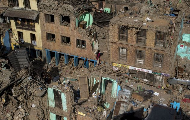 Thousands have lost their houses after the earthquake  / Reuters,