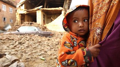 UNICEF has warned against the risk of child trafficking after the earthquake / Reuters