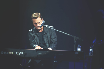 Michael W. Smith, playing Barcelona on May 2nd, 2015. / Gabriela Pérez.