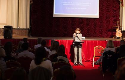 One of te speakers, Beth Grant. / EFN
