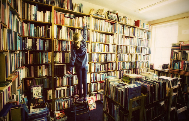 Bookshop. / David Moss (Flickr, CC),boookshop
