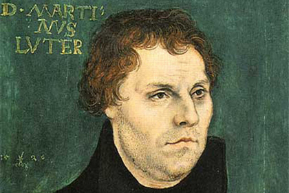 Martin Luther. / Wikimedia