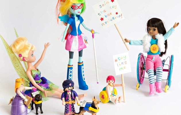 #ToyLikeMe campaign  modified toys to positively reflect disability. / BethMoseley Photography,