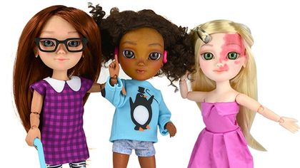 Makis produces disabled dolls