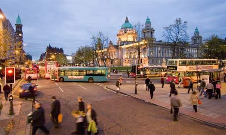 Belfast city centre. ,Belfast