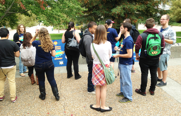 InterVarsity Christian students on Campus. / Usa Today,Intervarsity, students, IVCSU, CSU