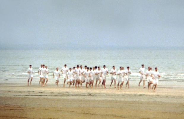 A scene of Chariots of Fire.,charriots of fire