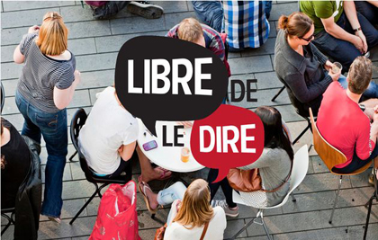 Libre de le dire, a CNEF campaign to promote the right of Christians to express their opinion publicly.