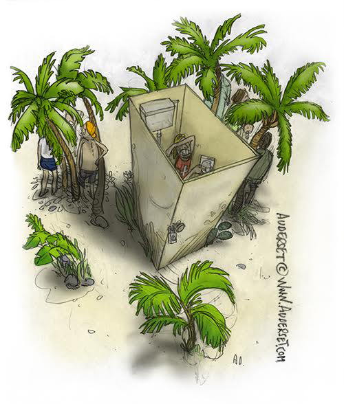 Image: Alain Auderset.,Alain Auderset, comic, Canarias, Canaries