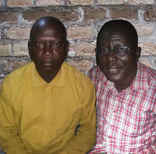 Rev. Yat Michael and Rev. Peter Yein Reith,
