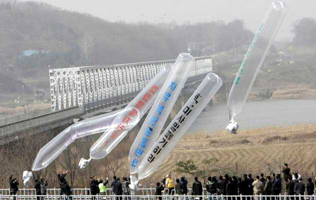 South Korea Bans Voice of the Martyrs' Balloon, Bottle Bible Launch Into North Korea After 2018 Agreement Between Nations
