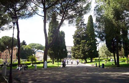 The Colle Oppio park. / Wikimedia