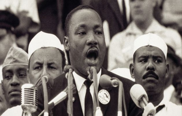 On August 28, 1963, Martin Luther King talked in front of 200,000 people,