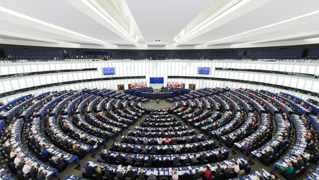 A plenary session of the European Parliament, in Strasbourg. / Wikimedia,european parliament, strasbourg