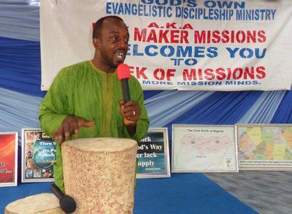 Pastor Joshua Adah was murdered by Muslim Fulani extremists last January.
