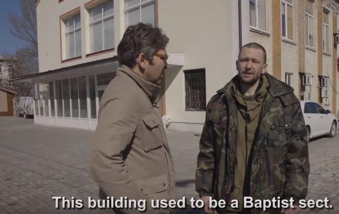 A soldier admits he fights non-Orthodox Christian  minorities. / Vice News