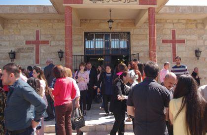 Christian church in Erbil