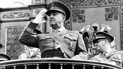 Dictator Francisco Franco.