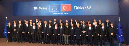 EU and Turkish leaders / EU Council