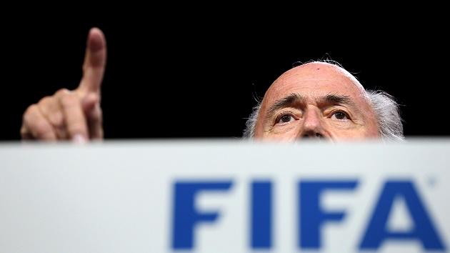 FIFA president Sepp Blatter. / Getty,fifa, sep blatter, corruption, christians, Jaime Fernández