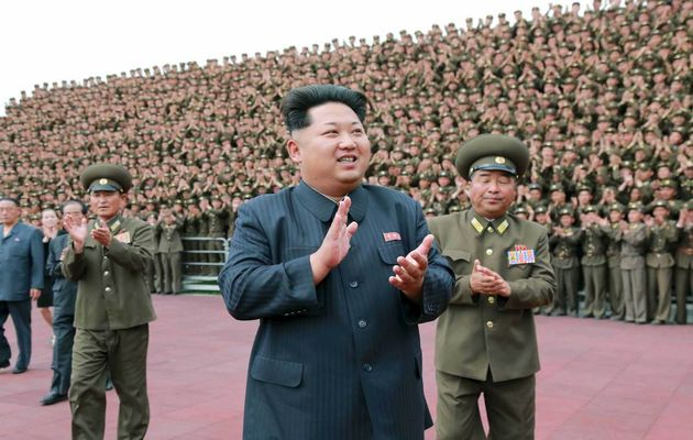 North Korean president Kim Jong-un,