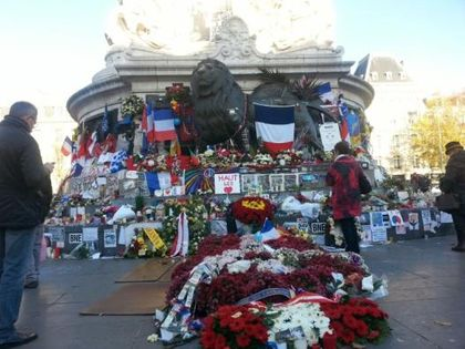 Paris is still struggling to overcome the terrible effects of the  terrorist attacks
