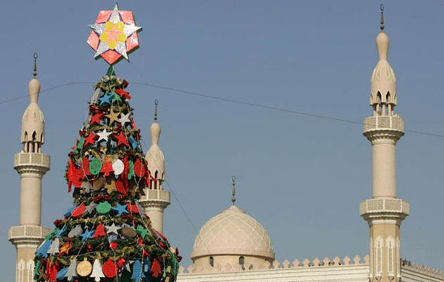 A Christmas tree in Dubai / Getty,