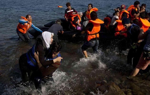 About 850,000 migrants and refugees crossed into Greece last year. / Reuters,refugees, greece, mediterranean, 2015, turkey