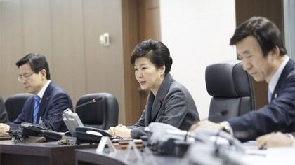 South Korea Presidenr condemned the bomb