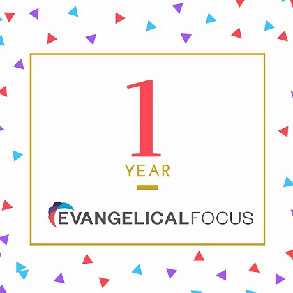 You can use the #1YearEF hashtag to comment on Evangelical Focus' first year of life.