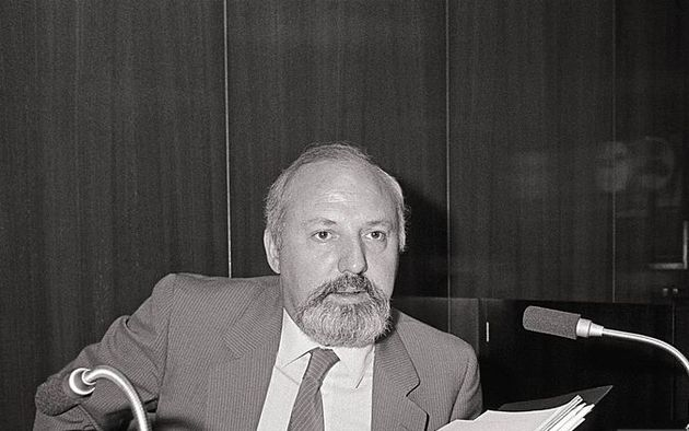 Jose Maria Calviño, director of Spanish public TV 1982-1986. / Getty,