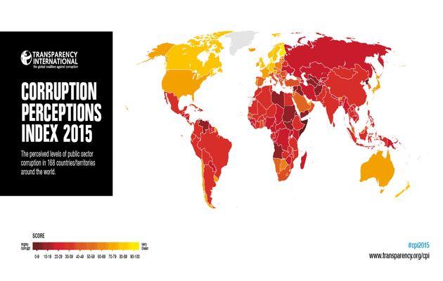 Corruption map / TI,