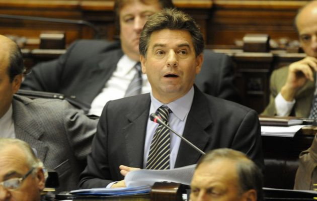 The new president of the Uruguayan parliament, Gerardo Amarilla.,Gerardo Amarilla, uruguay, parliament, evangelical