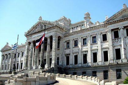 The Uruguayan Parliament.