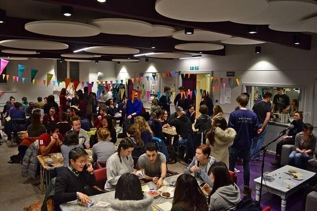 A mission week event in Edinburgh. / UCCF,uccf, edinburgh, cu