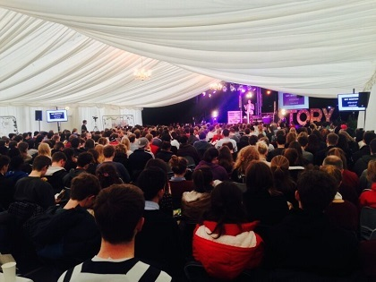 A talk organised by the Durham Christian Union. / UCCF