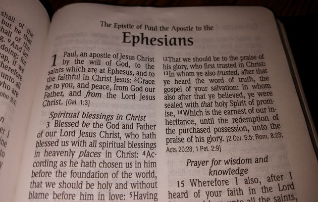 Ephesians is among the letters whose autorship is under dout clear for some scholars.,